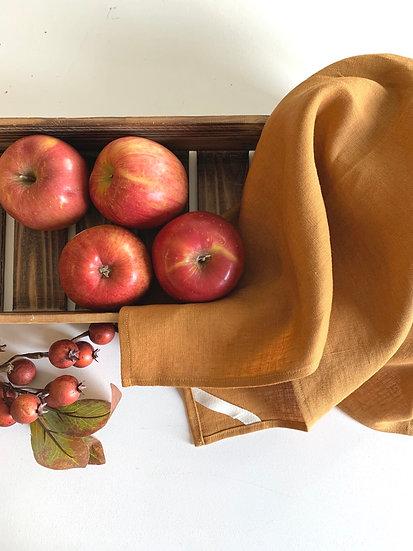 Copper Linen Tea Towel - 2 pk