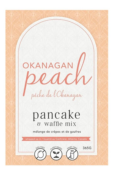 Okanagan Peach Pancake & Waffle Mix