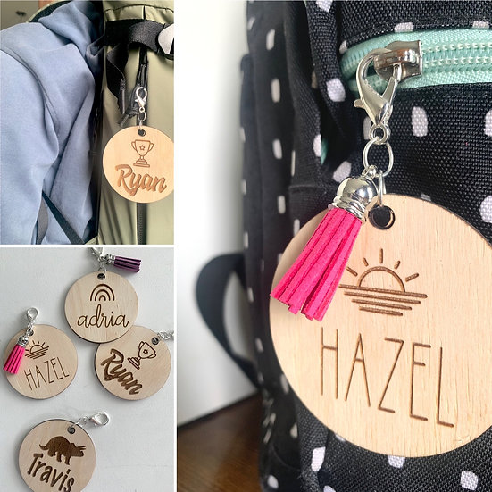 Backpack/Lunch Kit/Tote Name Tag