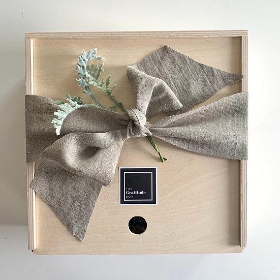 Solid Wood Keepsake Box