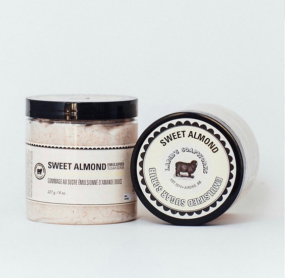 Sweet Almond Emulsified Sugar Scrub