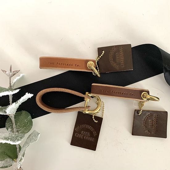 Populess Leather Key Caddy
