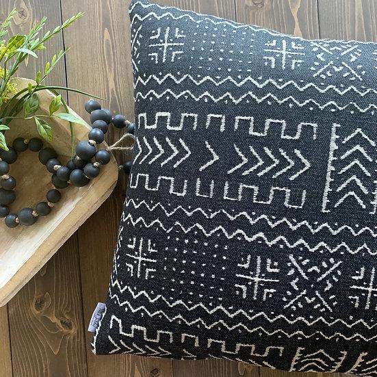 Black Accent Pillow