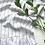 Thumbnail: Linen Ruffled Table Runner - Black Pinstripe