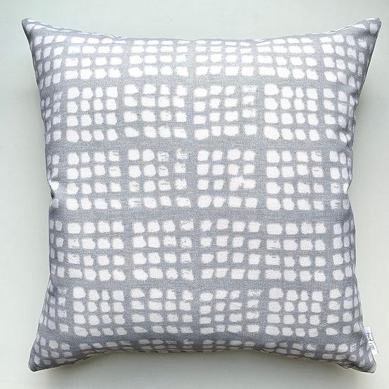 Checker Grey Accent Pillows