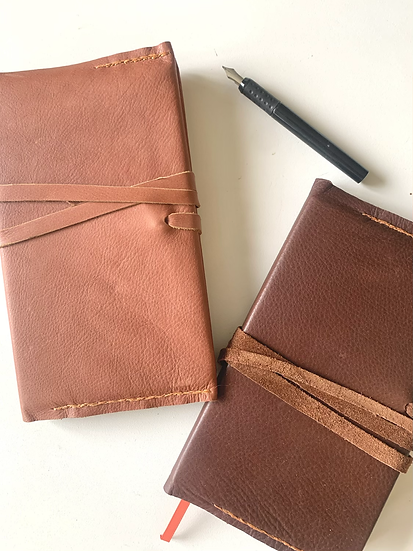 Leather Handsewn Journal