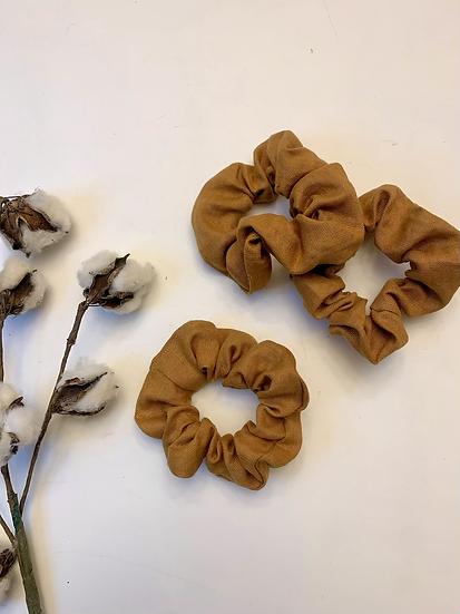 Linen Scrunchie - Copper
