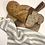 Thumbnail: Natural Striped Linen Tea Towels - 2 pk