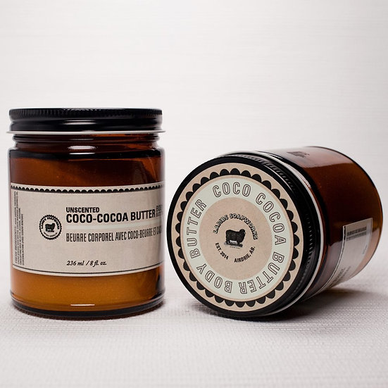 Coco-Cocoa Unscented Body Butter