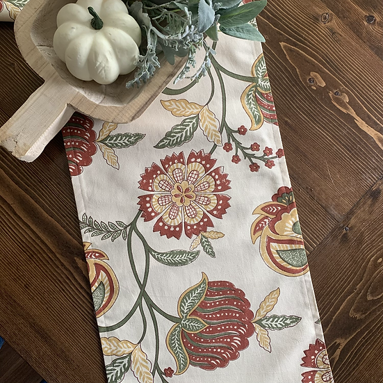 Table Runner - Fall Blooms