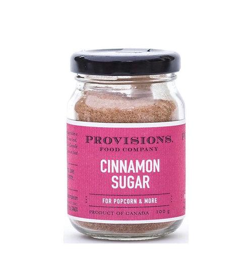 Cinnamon Sugar Popcorn Topping
