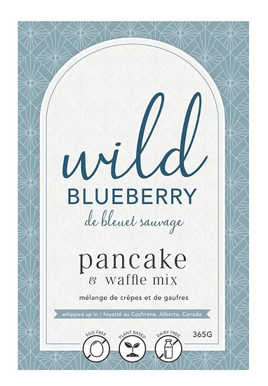 Wild Blueberry Pancake & Waffle Mix