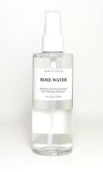 Rose Water ~ Organic Soothing Toner