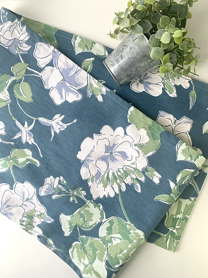 Table Runner - Blue/Green Floral