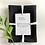 Thumbnail: Black Linen Tea Towels - 2 pk