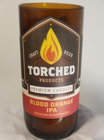 Torched Candle - Blood Orange