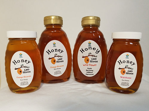 A&D Hives Honey: Multiple Flavors
