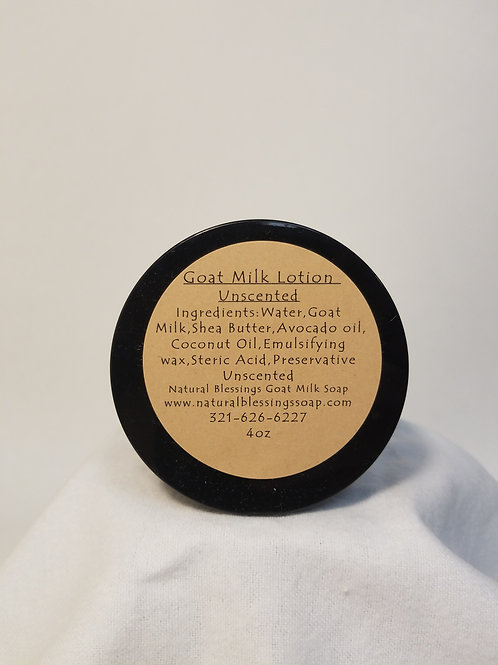 Goat's Milk Lotion - Unscented