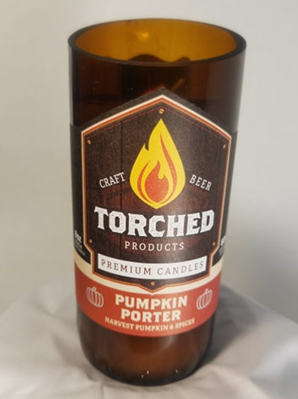Torched Candle - Pumpkin Porter
