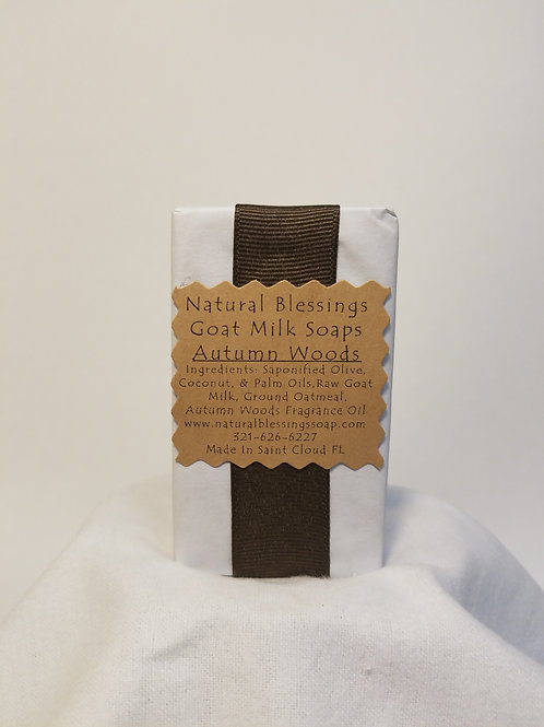 Goat's Milk Soap - Autumn Woods