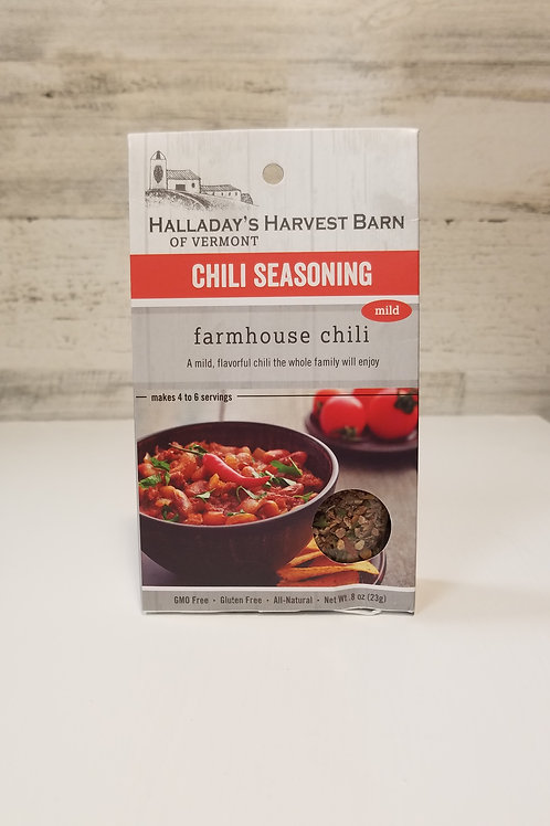 Halladay's Harvest Barn - Chili Seasoning