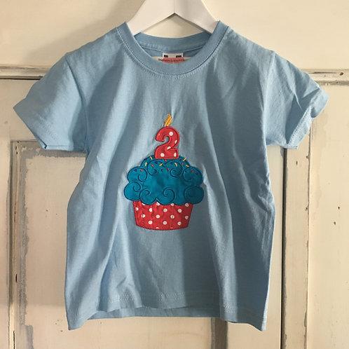 Geburtstagsshirt Muffin