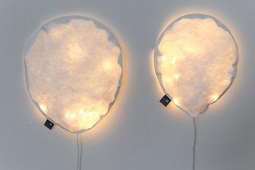 Lighting balloon white