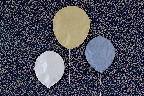 Lighting Balloon pewter blue
