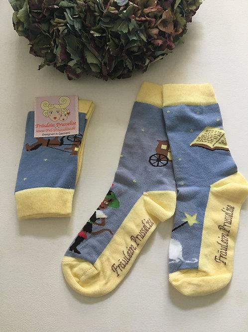 Socken gestiefelter Kater