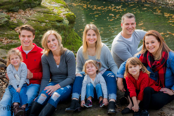Fall Family of Eight