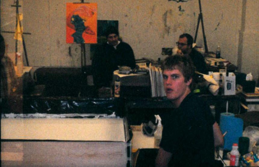 Ben Callaway, Painting Studio 2001