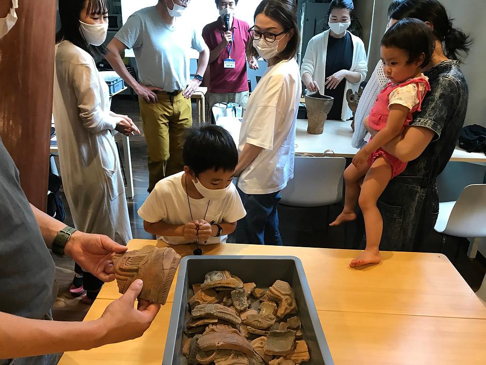 森の教室、「縄文の文化、縄文人の生活や知恵を知ろう!」