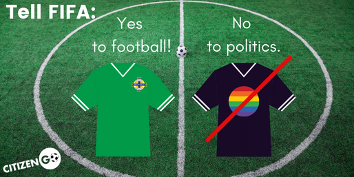 Sign the petition to FIFA!