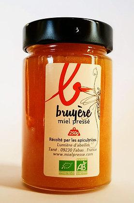 Miel de bruyère 250g