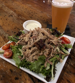 IQ Salad with Pulled Pork