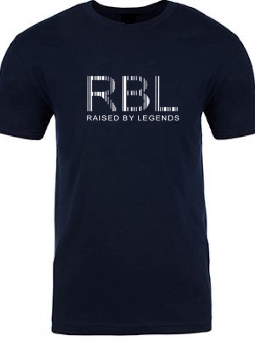 NEW RBL RAISED BY LEGENDS BARCODE TEE