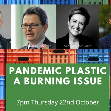 Pandemic Plastics - A Burning Issue: An Event by Clear Public Space and the Frontline Club