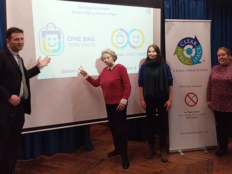 One Bag Zero Waste Campaign launch