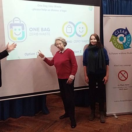 One Bag Zero Waste Campaign launch