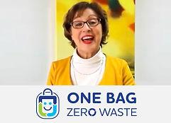 Rebecca Pow supports One Bag Zero Waste