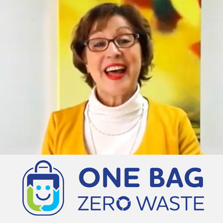 Environment Minister Rebecca Pow MP welcomes One Bag Zero Waste