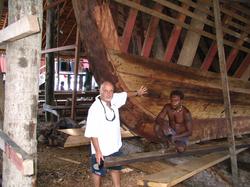 Wooden Boat Solomon Islands