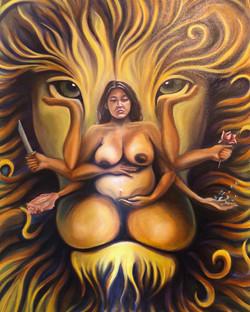 Durga Ma in Leo