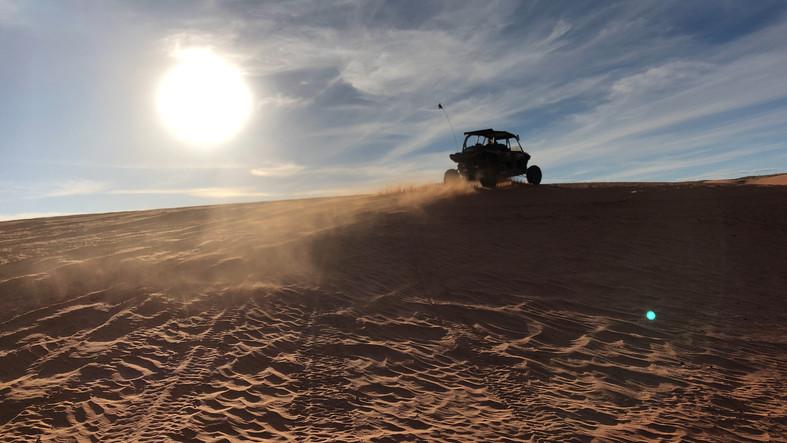 Sand Mountain Dunes - Polaris RZR XP 1000