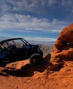 West Rim Trail - Polaris RZR Turbo S4