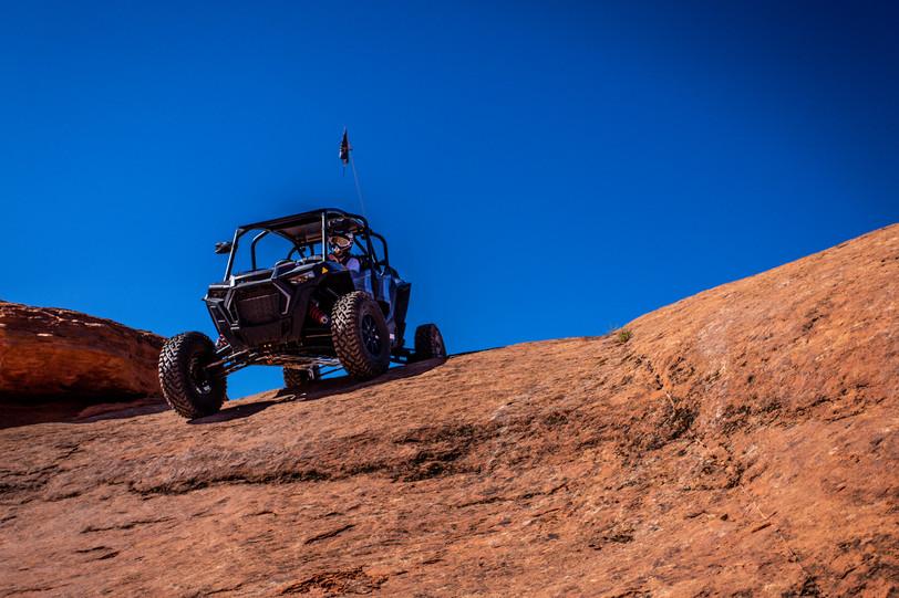 West Rim Rock Crawling - Polaris RZR Turbo S