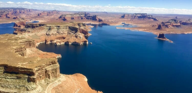 Lake Powell Helicopter Tour