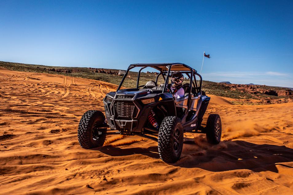 Sand Mountain Dunes - Polaris RZR Turbo S