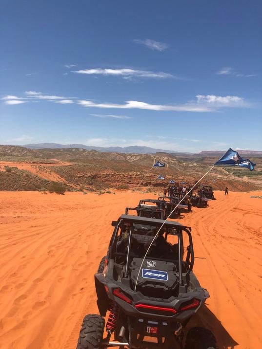 Dune above Horshoe Bend - Polaris RZR XP 1000