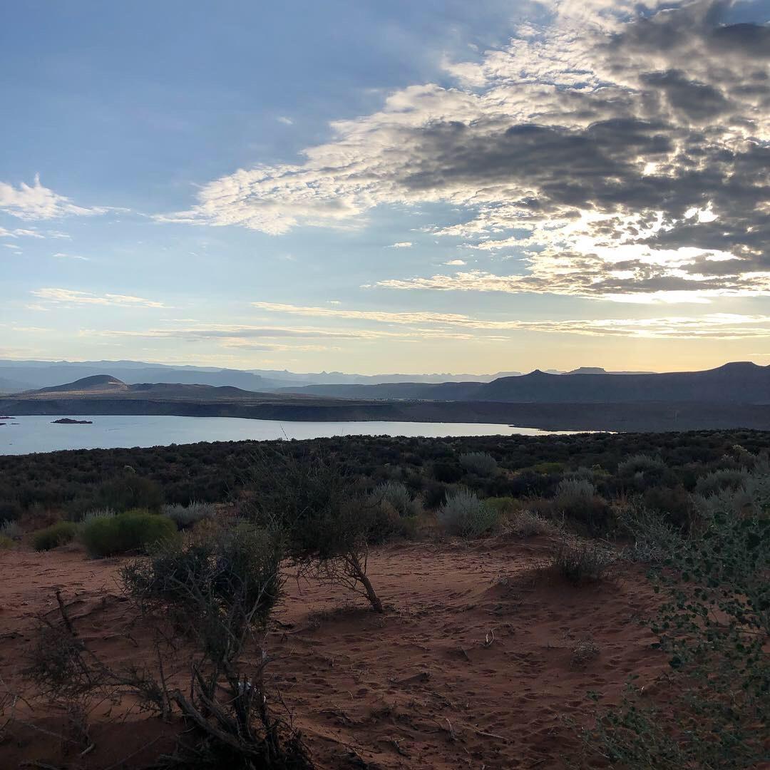 Sand Hollow Reservoir Lookout